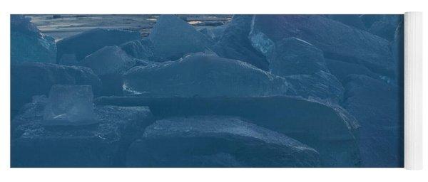 Mackinaw City Ice Formations 21618013 Yoga Mat
