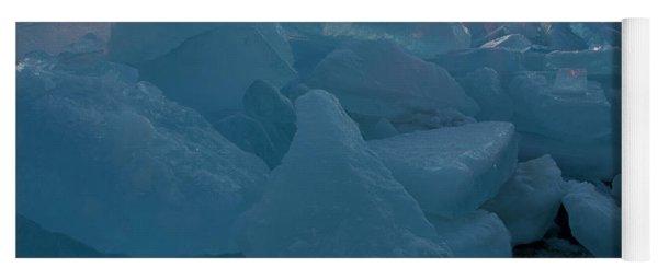 Mackinaw City Ice Formations 21618014 Yoga Mat