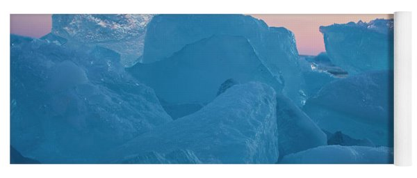 Mackinaw City Ice Formations 2161804 Yoga Mat
