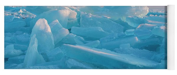 Mackinaw City Ice Formations 2161807 Yoga Mat