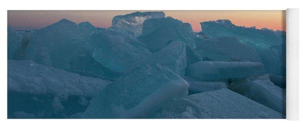 Mackinaw City Ice Formations 2161808 Yoga Mat