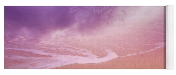 Magical Dust With Hazy Flower On Dreamland Beach  Yoga Mat