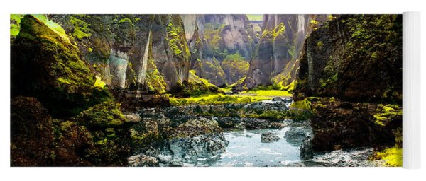 Magnificent Rural Canyons Montage Yoga Mat