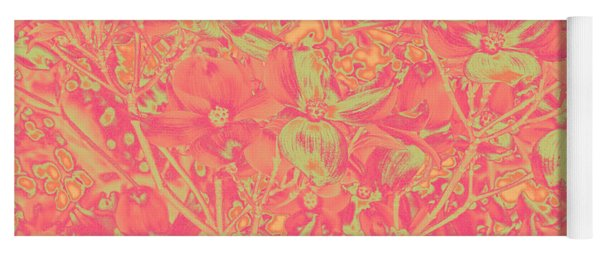 Yoga Mat featuring the photograph Magnolia Abstract by Mae Wertz