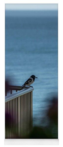 Magpie Bird Yoga Mat