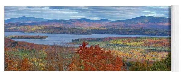 Maine Fall Colors Yoga Mat