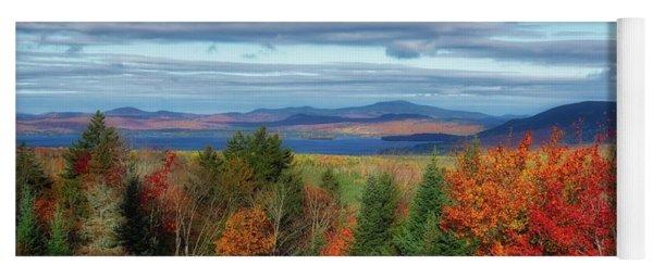 Maine Fall Foliage Yoga Mat