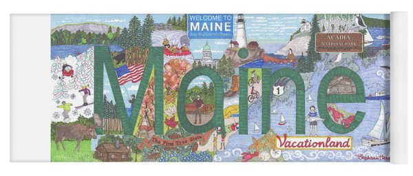 Maine Yoga Mat