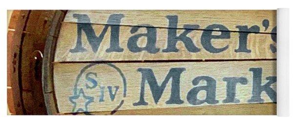 Makers Mark Barrel Yoga Mat