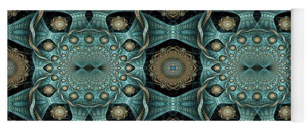 Yoga Mat featuring the digital art Malachi by Missy Gainer
