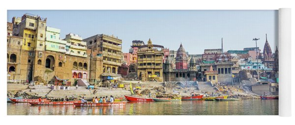 Manikarnika Ghat Varanasi Yoga Mat