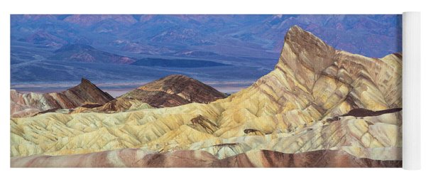 Manley Beacon In Death Valley Yoga Mat