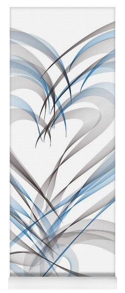 Many Hearts Yoga Mat