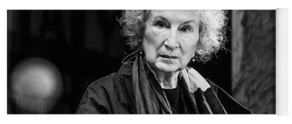Margaret Atwood At The Hay Festival 2018 Yoga Mat
