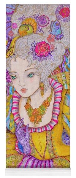 Marie Antoinette Yoga Mat