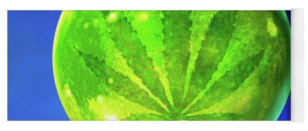 Marijuana Moon  Yoga Mat