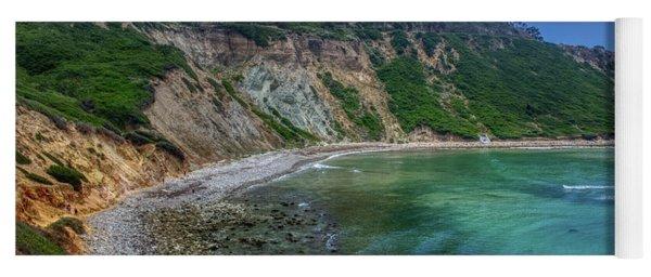 Marine Layer Over Bluff Cove Yoga Mat