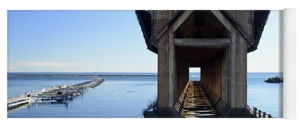 Marquette Ore Dock Cathedral Yoga Mat