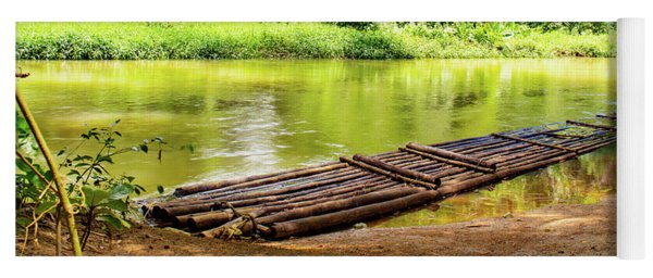 Martha Brae River Bamboo Rafting Yoga Mat