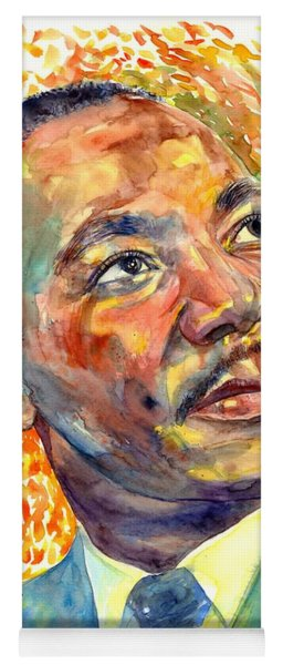 Martin Luther King Jr Portrait Yoga Mat