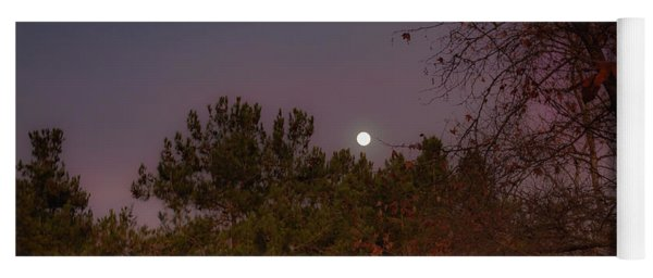 Yoga Mat featuring the photograph Marvelous Moonrise by Alison Frank