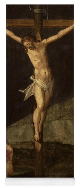 Mary Magdalene At The Foot Of The Cross, Ca 1610 Yoga Mat