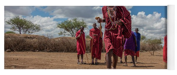 Maasai Welcome Yoga Mat