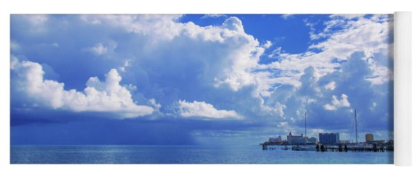 Massive Caribbean Clouds Yoga Mat