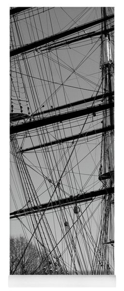 Masts And Rigging Of The Cutty Sark Yoga Mat