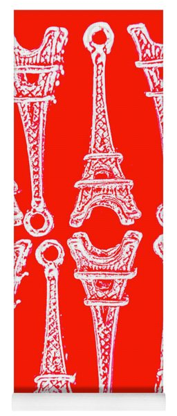 Match Made In Paris Yoga Mat