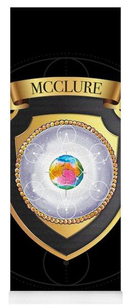 Mcclure Family Crest Yoga Mat
