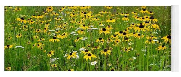 Meadow Flowers 1 Yoga Mat