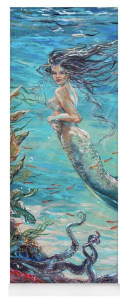 Mermaid Neighbors Yoga Mat