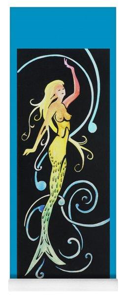 Mermaid Swirls Yoga Mat