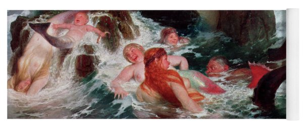Mermaids At Play, 1886 Yoga Mat