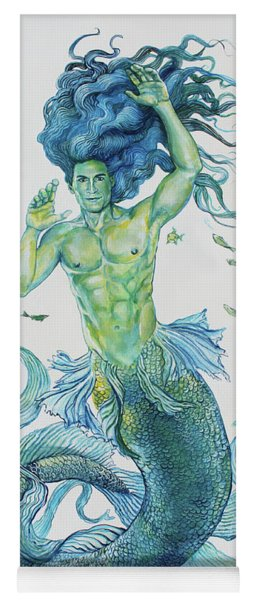 Merman Clyde Yoga Mat
