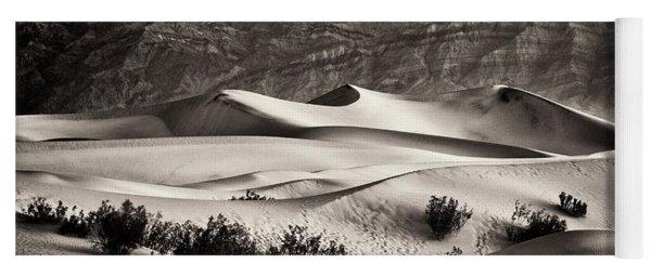 Mesquite Dunes In Sepia Yoga Mat