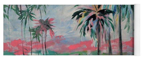 Miami Palms Yoga Mat