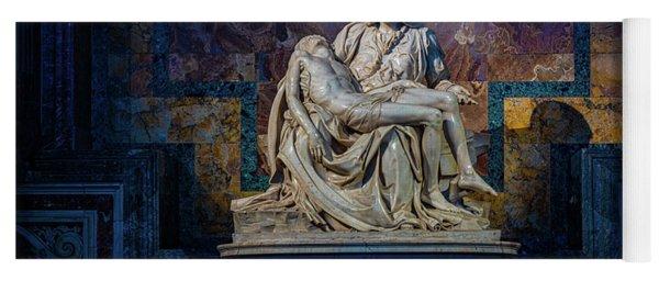 Michelangelo's Pieta Yoga Mat