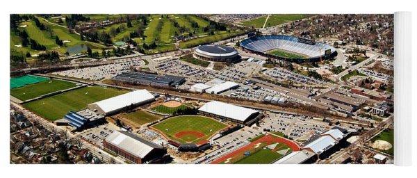 Michigan Stadium Yoga Mat