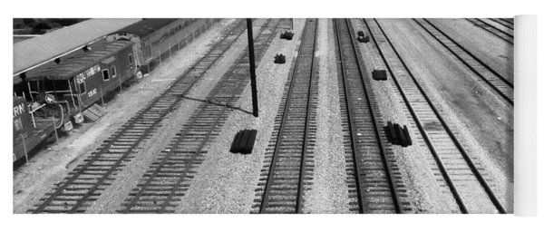 Middle Of The Tracks Yoga Mat