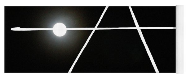 Midnight Monogram Yoga Mat