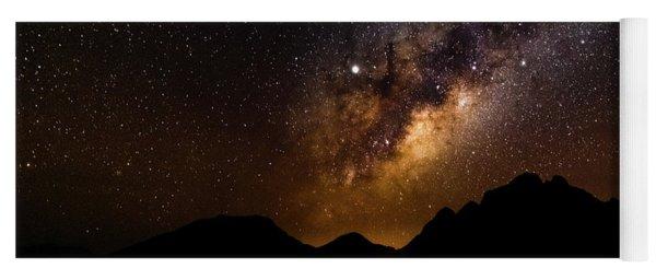 Milkyway Over Spitzkoppe 2, Namibia Yoga Mat