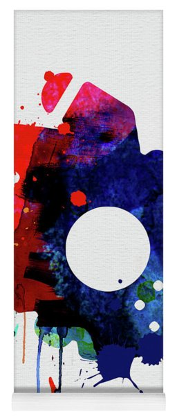 Millennium Falcon Watercolor Cartoon Yoga Mat