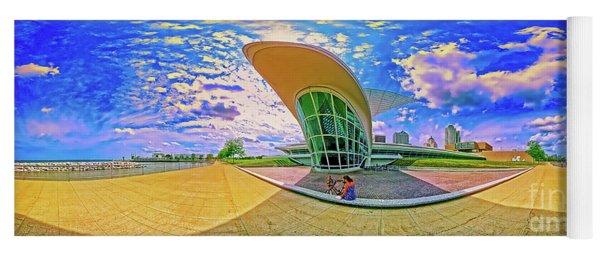 Milwaukee Art Musem  Tom Jelen Yoga Mat