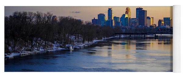 Minneapolis Skyline Yoga Mat