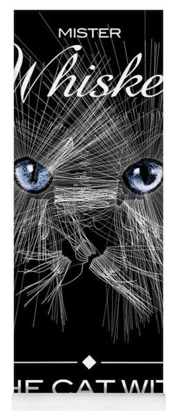 Mister Whiskers Yoga Mat