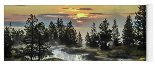 Misty Morning Yoga Mat