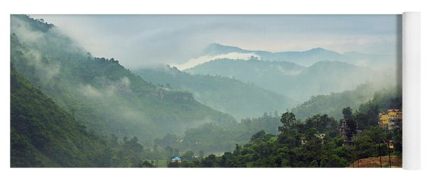 Misty Mountains Yoga Mat