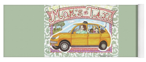 Mom's Taxi Yoga Mat